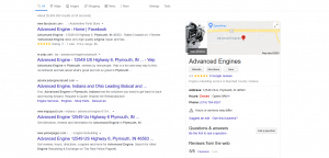 Advanced Engine Plymouth Indiana SEO Marketing Services near Me South Bend